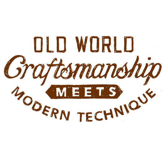 Old World Craftsmanship Meets Modern Technique